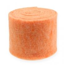 Felt tape Orange 15cm 5m