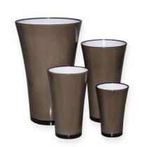 "Vase ""Fizzy"" Graystone Ø13,5cm to Approx. Ø28,5cm, 1 pc"