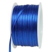 Gift ribbon blue 3mm 50m