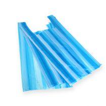 Shirt bag blue 25cm x 12cm x 45cm 8my 100pcs