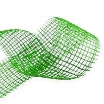 Jute ribbon green 5cm 40m