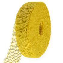 Jute tape yellow 5cm 40m