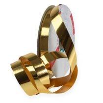 Curling ribbon shiny 19mm 100m gold