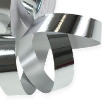 Curling ribbon shiny 19mm 100m silver