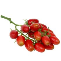Artificial vine tomatoes red on the branch 22cm