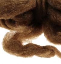 Wool sliver 10m brown
