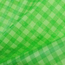 Cuff paper 37,5cm 100m May green plaid