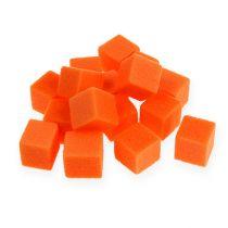Wet foam mini-cube orange 300p