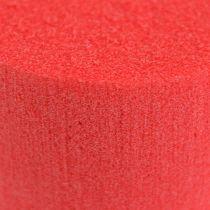 Plug-in cylinder Cylinder Ø8cm Red 6pcs