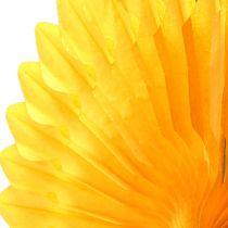 Flower Deco Honeycomb Yellow Ø40cm 4pcs