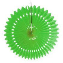 Honeycomb paper flower green Ø40cm 4pcs