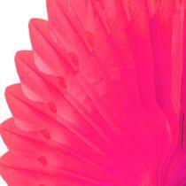Party Deco honeycomb flower Pink Ø40cm 4pcs