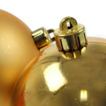 Christmas Ball Gold 10cm 4pcs