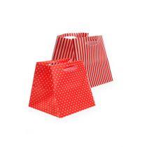 Plastic bag red sort. 6,5cm x 6,5cm 12pcs