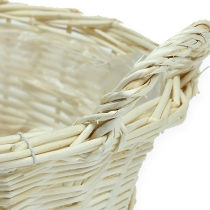 Round basket peeled about 30cm