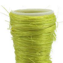 Sisal bag light green Ø4,5cm L60cm 5pcs