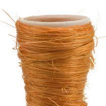 Pointed Vase Sisal Orange Ø4,5cm L60cm 5pcs