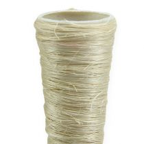 Sisal pointed vase bleached Ø2.5cm L30cm 12pcs