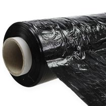 Stretch foil wrapping film black 260m