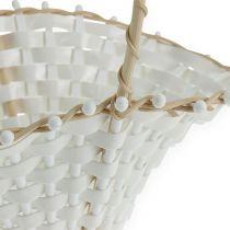 Wedding straw baskets 24cm x 17cm