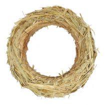 Straw wreath 100/15cm
