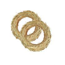 Straw wreath 18 / 3cm (10pcs.)