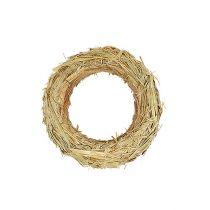 Straw wreath straw rings 50 / 10cm