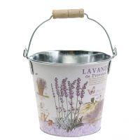 Plant bucket lavender Ø15cm H14cm