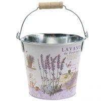 Plant bucket lavender Ø17cm H16cm