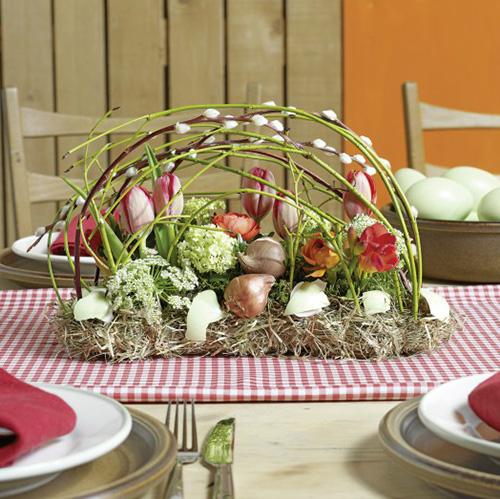 Floral foam brick table decoration 29cm x 12cm x 8.5cm 4pcs