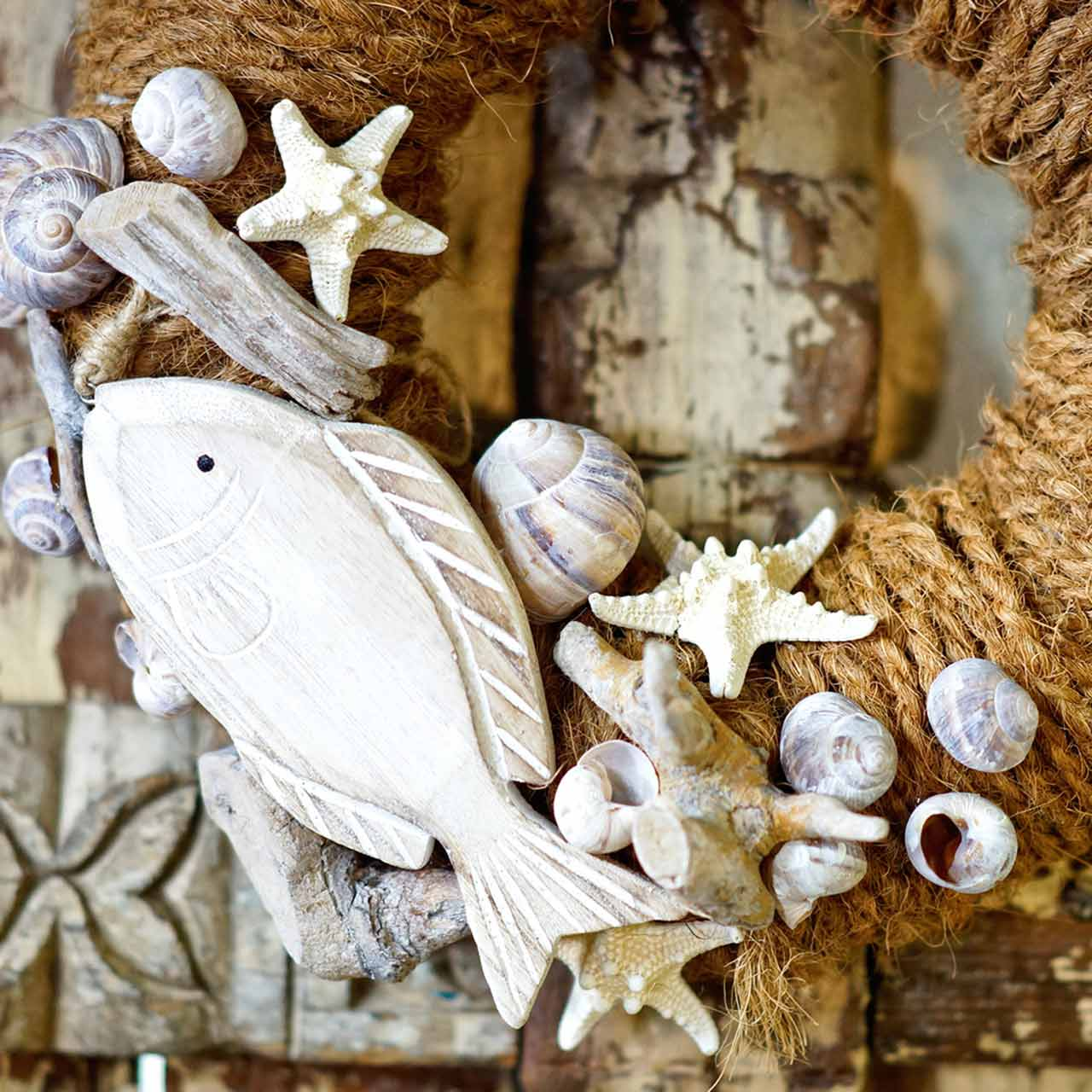 Starfish 9cm - 11cm white 20pcs