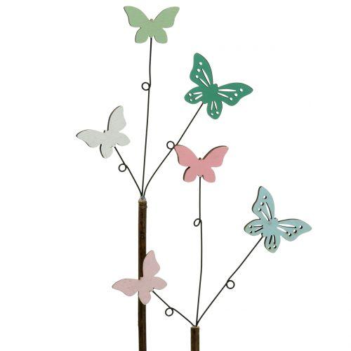 Deco sticker Butterfly H43cm 6pcs