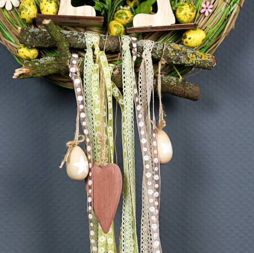 Quail eggs pink 3.5-4cm blown eggs Easter decoration 50pcs