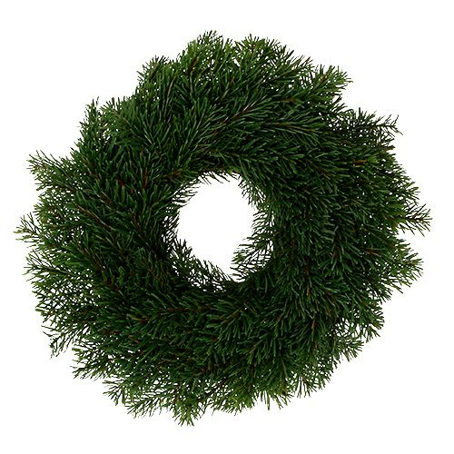 Advent wreath with fir Ø40cm H9cm