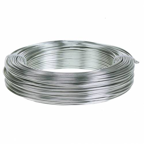 Aluminum wire 2mm 500g silver