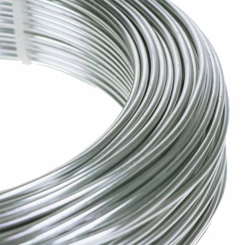 Aluminum wire 2mm 1kg silver