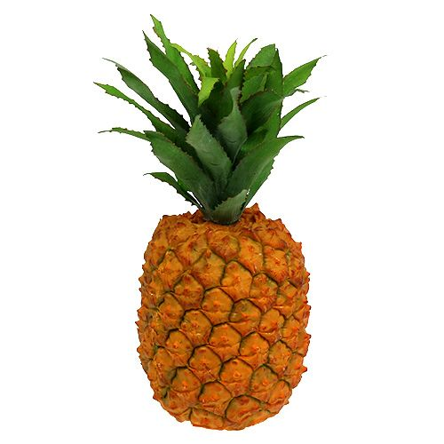 Pineapple artificially 21cm orange