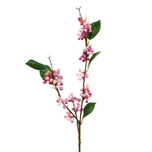 Berry branch Artificial Pink-Purple 64cm 6pcs