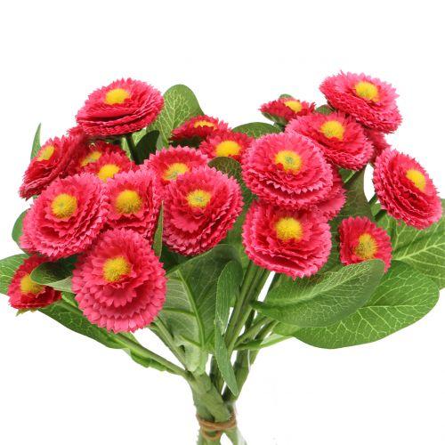 Bellis bunch Pink 24cm 4pcs
