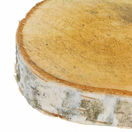 Birch discs round Ø11-13cm 11pcs