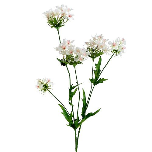 Flowering branch white L70cm