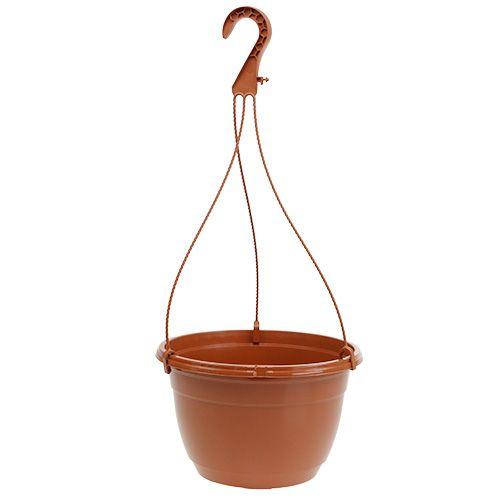 Hanging basket Ø25cm terracotta