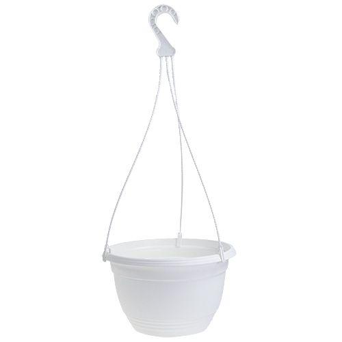 Flower basket Ø30cm white