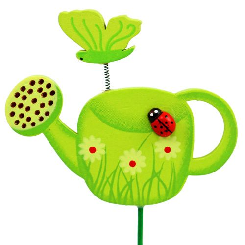 Flower plug watering can colorful garden plug spring decoration 16pcs