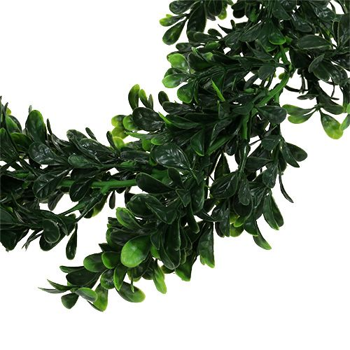 Boxwood garland 2.7m green