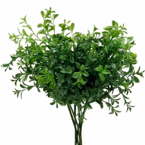 Box twigs Boxwood at the Pick Artificial green plant 6pcs