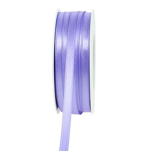 Deco ribbon light purple 6mm 50m