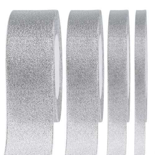 Decorative band silver different widths 22,5m