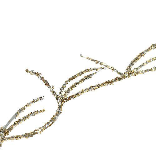 Decoration strand Tillandsia Gold 100cm 10pcs