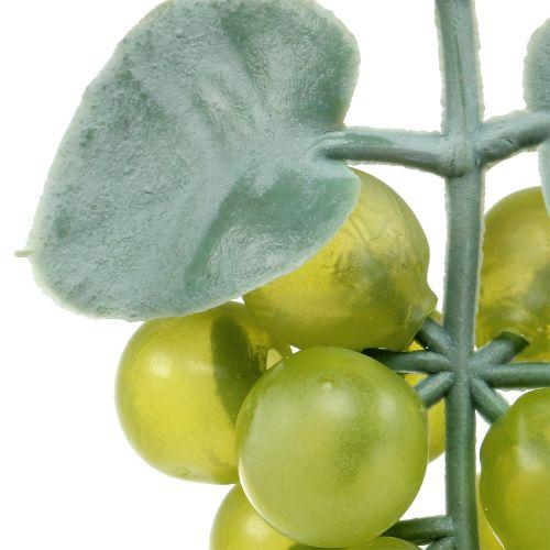 Deco-grapes small green 10cm